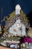 Fairy сад для inddoors или снаружи Стоковое фото RF