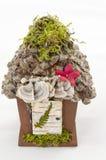 Fairy сад для inddoors или снаружи Стоковое Изображение RF