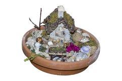 Fairy сад для inddoors или снаружи Стоковые Фотографии RF
