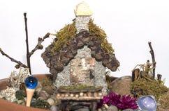 Fairy сад для inddoors или снаружи Стоковые Изображения RF