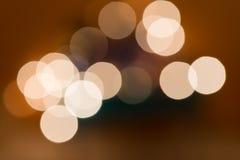 Fairy света на рождественской елке с красивым bokeh Стоковая Фотография RF