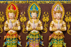 3 fairy статуи Стоковая Фотография RF