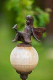 Fairy статуя металла Стоковое Фото