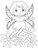 Fairy страница расцветки Стоковое фото RF