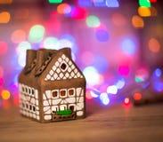 Fairy торт дома рождества Стоковое фото RF