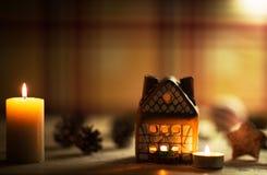 Fairy торт дома рождества Стоковое Изображение RF