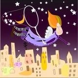 fairy луна Стоковые Изображения RF