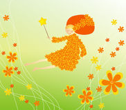 fairy цветок Иллюстрация вектора