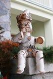 Fairy человек сделанный от березы Стоковая Фотография RF
