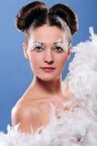 Fairy 1 do Natal Imagens de Stock Royalty Free