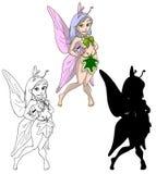 милая fairy весна Стоковые Фотографии RF