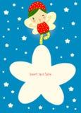 заполнение карточки fairy к Стоковые Фото