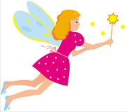 Fairy Fotografia Stock