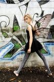 fairy надпись на стенах Стоковое Фото
