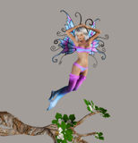 Fairy. Digital beauty for your artistic creations and/or projects Stock Photography