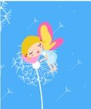 Fairy addormentato Fotografie Stock Libere da Diritti