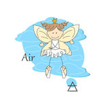 Fairy of air. Stock Photos