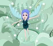 Fairy anime Royalty Free Stock Photography