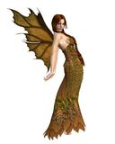 Fairy Autumn Spirit 1 Royalty Free Stock Photo