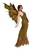 Fairy Autumn Spirit 1 vector illustration