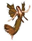 Fairy Autumn Spirit 2 stock illustration