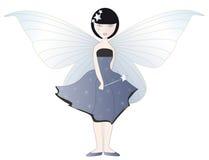 Fairy azul ilustração stock