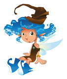 Fairy-Azul Fotos de Stock