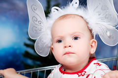 Fairy baby Stock Photography