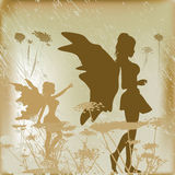 Fairy Background Stock Photography