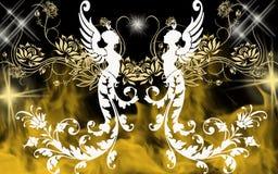 Fairy background Royalty Free Stock Photos
