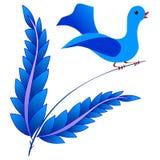 Fairy bird Stock Images