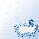 Fairy bird-frame Royalty Free Stock Photos