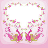 Fairy bird Stock Image
