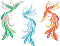 Fairy birds Stock Image