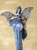 Fairy blu Immagini Stock