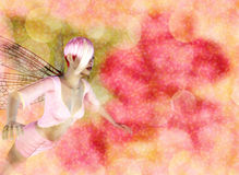 Fairy on Bokeh background Stock Images