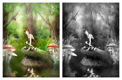 Fairy bonito Fotografia de Stock Royalty Free