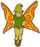 Fairy boy Stock Photo