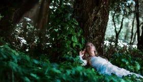 Fairy bride Stock Images