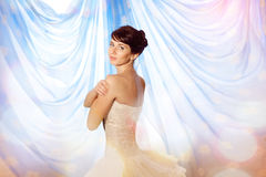 Fairy bride Royalty Free Stock Photos