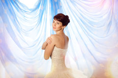 Fairy bride Royalty Free Stock Images