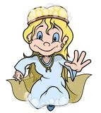 Fairy With Bubbles Royalty Free Stock Image
