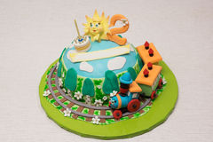 Fairy cake Royalty Free Stock Images