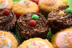 Fairy Cakes Stock Images