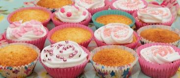 Fairy cakes Stock Image