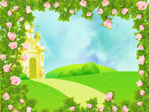 Fairy castle Royalty Free Stock Image