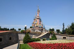 The fairy Castle -Disneyland Paris Royalty Free Stock Photos