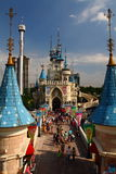 Fairy Castle Lotte World Seoul Royalty Free Stock Photography
