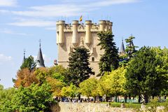 Fairy castle in Segovia, Spain Stock Images