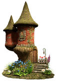 Fairy castle tower house Stock Photo